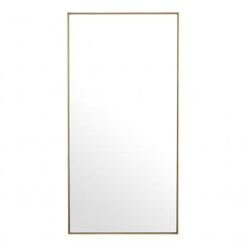 Redondo spegel borstad mässing rektangel 1