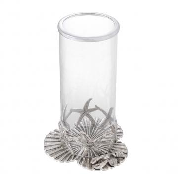 Sjöstjärna lykta antik silver 3