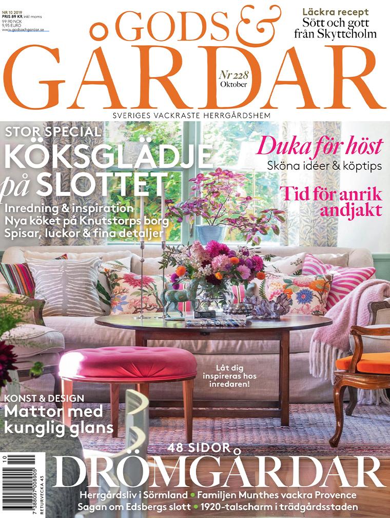 Tidningar Gods & Gårdar nr10 2019