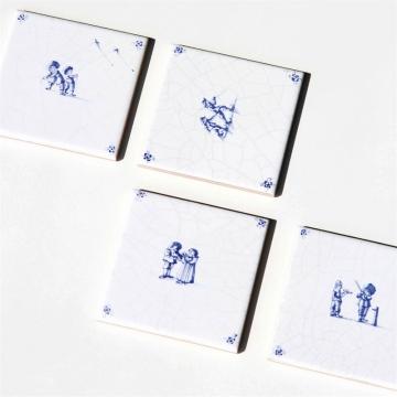 Chester glasunderlägg keramik 4-pack