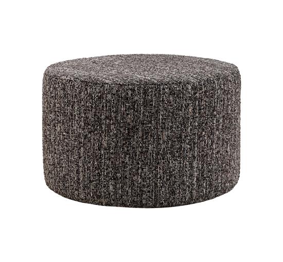 Listbild Cortina fotpall coelle grå stor