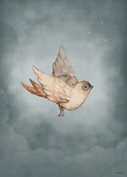 Dear Sparrow poster 50x70 1