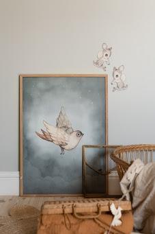 Dear Sparrow poster 50x70 4