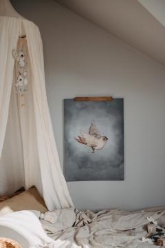 Dear Sparrow poster 50x70 2