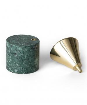 Streamer B ljushållare grön liten 2
