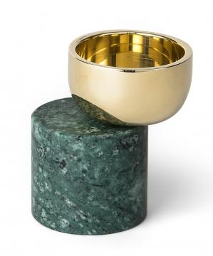 Streamer C ljushållare grön liten 1