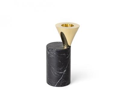 Streamer B ljushållare svart mellan 1