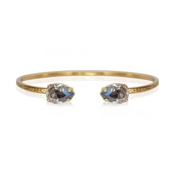 Petite Drop armband black diamond 1