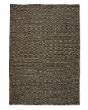 Goose Eye matta svart 170x230 1