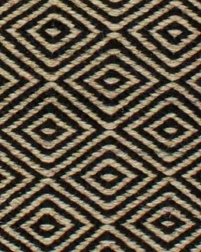 Goose Eye matta svart 170x230 3