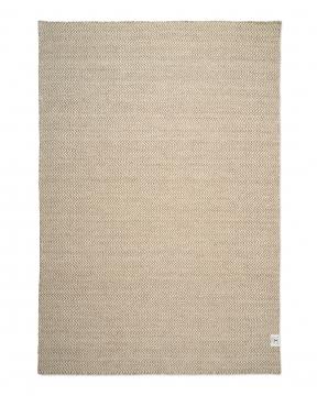 Herringbone matta natur/vit 250x350 2