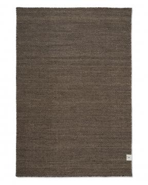 Herringbone matta natur/svart 200x300 1