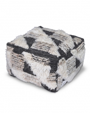 Marrakesh sittpuff charcoal 1