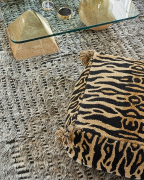 Tiger sittpuff natur 2