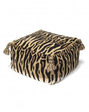 Tiger sittpuff natur 1