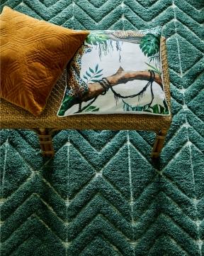 Soho matta grön 170x230 2