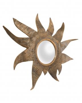 Exotic spegel mässing 1