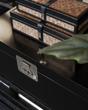 Fabriano förvaringsbox svart 2-pack 2
