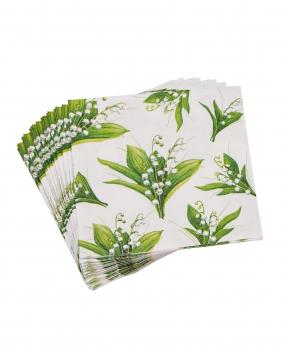 Liljekonvalj servetter 20-pack 1