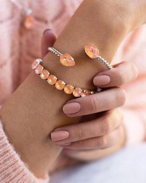 Mini Drop armband peach delite 2