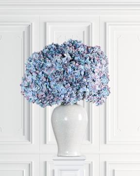 Hortensia snittblomma blå 110cm 1