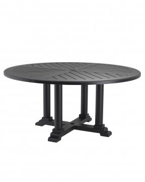 Bell Rive matbord svart Ø160 1