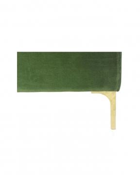 Bonham soffa 3-sits amazon green/mässing 4
