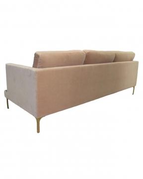 Bonham soffa 3-sits ivory/mässing 3