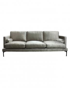 Bonham soffa 3-sits dorian grey/svart 1
