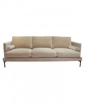 Bonham soffa 3-sits ivory/svart 1