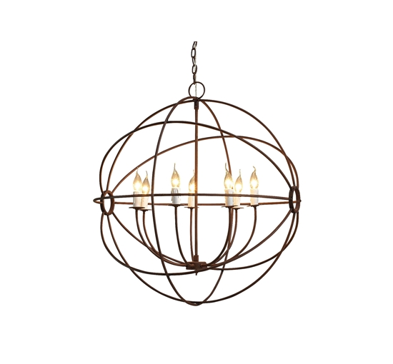 Gyro chandelier large 1-2