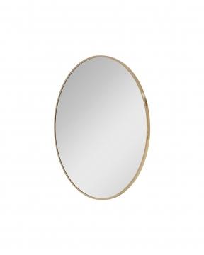 R & J spegel mässing Ø130 3