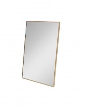 R & J spegel mässing 102x76 1