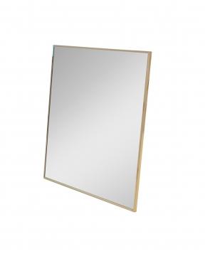 R & J spegel mässing 95x95 1