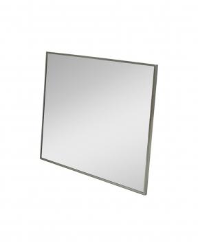 R & J spegel svart krom 150x106 1