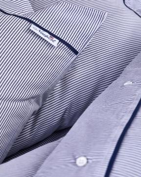Riverhead påslakanset blå/vit 4