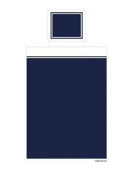 Belgravia örngott blå/vit 3