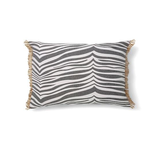 Zebra kudde grå 40x60