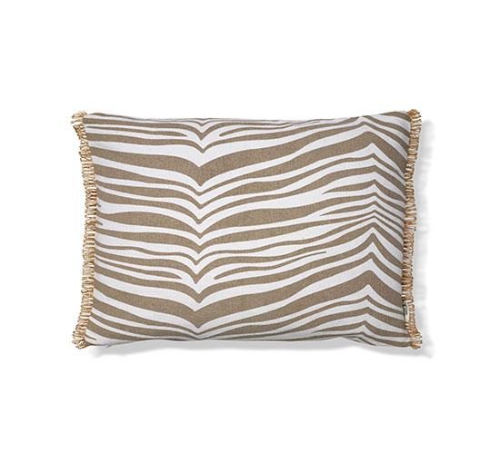 Zebra kudde beige