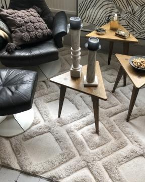 Copenhagen matta grå 2
