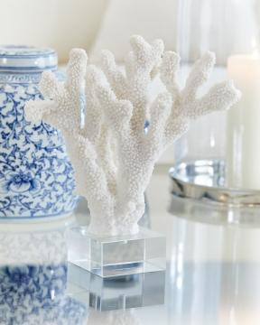 Chloé korall vit 1