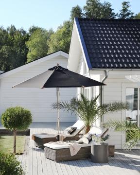 Pomino parasoll svart 1