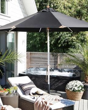 Pomino parasoll svart 4