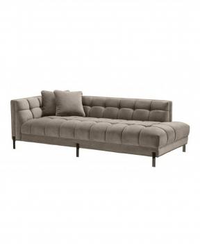 Sienna soffa grå/svart vänster 1