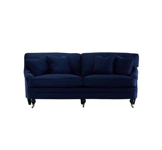 Listbild - Newport howardsoffa indigo blå