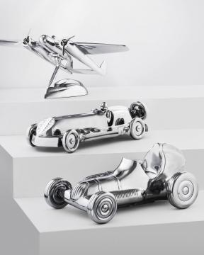 Ethan modellbil silver 1