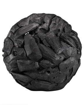 Globe dekoration svart 3