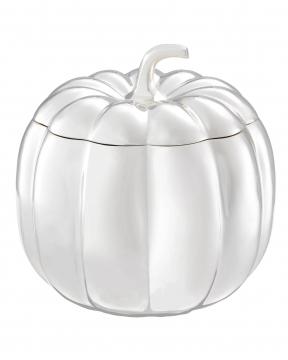 Pumpkin förvaringsbox silver 1