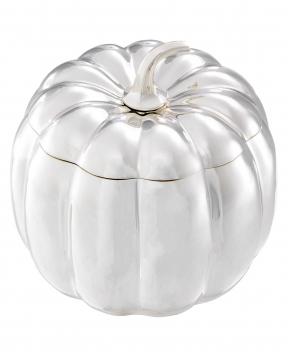 Pumpkin förvaringsbox silver 2