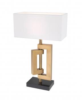Leroux bordslampa mässing 3